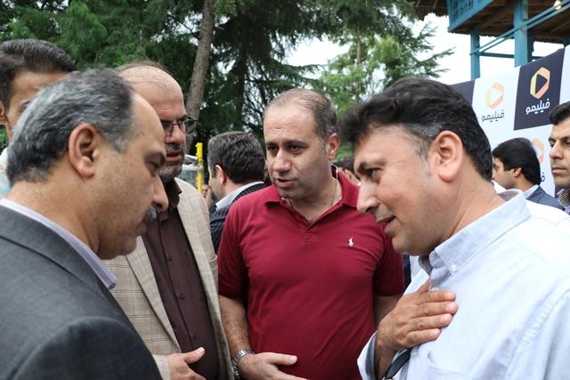 مدیر جشنواره دربندیخان عراق از جشنواره تئاتر خیابانی لاهیجان دیدن کرد