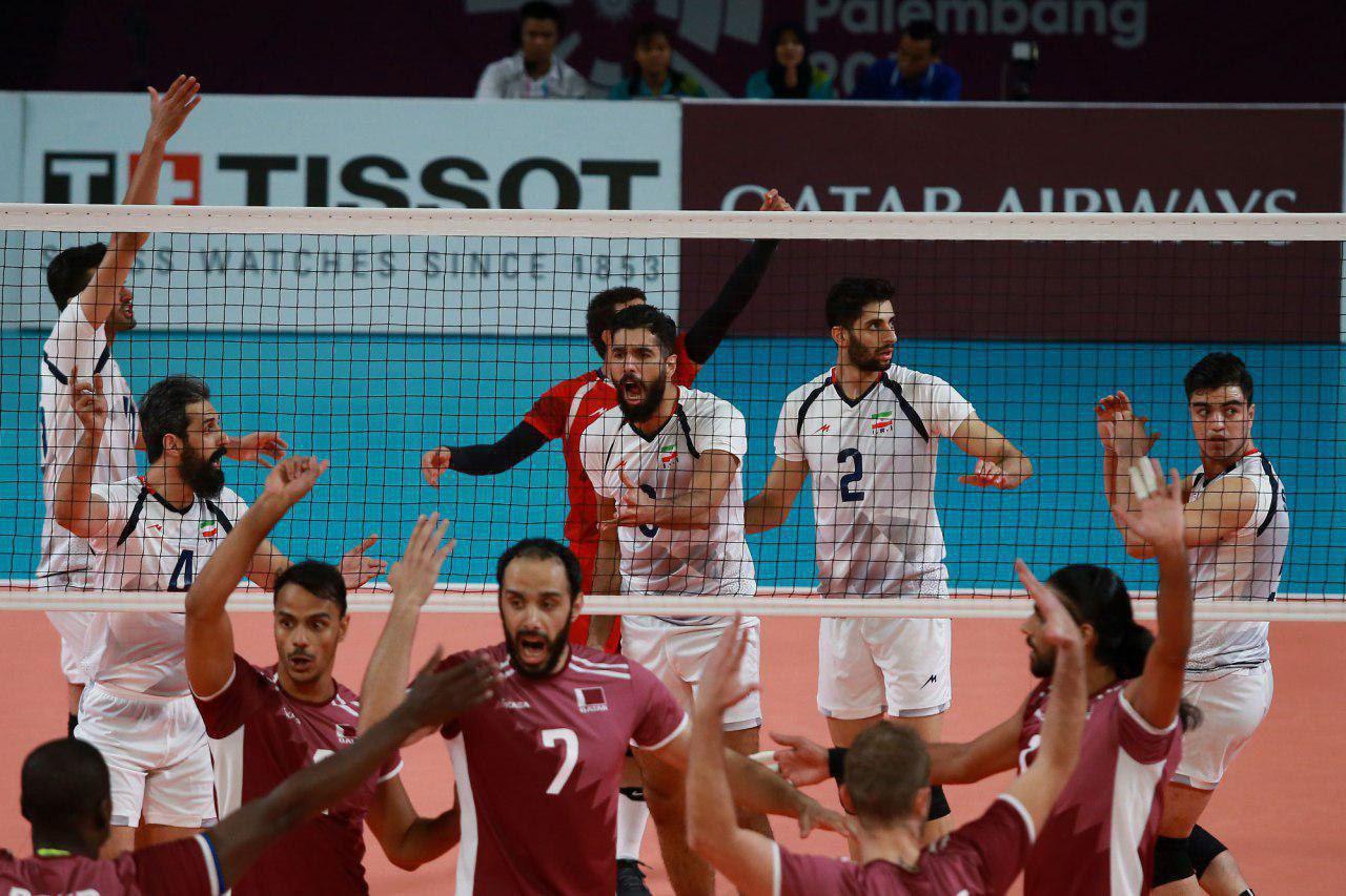 تیم ملی والیبال ایران فینالیست شد
