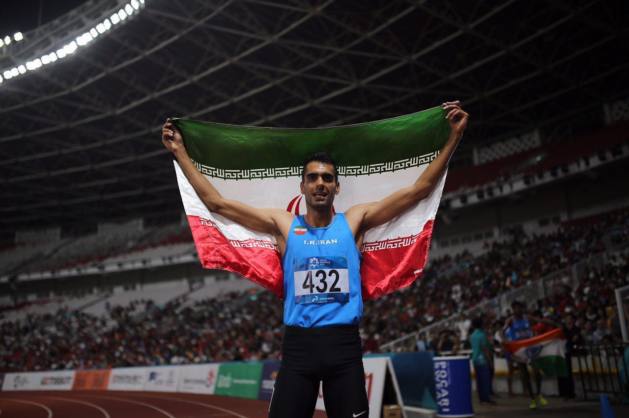 کسب مدال نقره توسط امیر مرادی