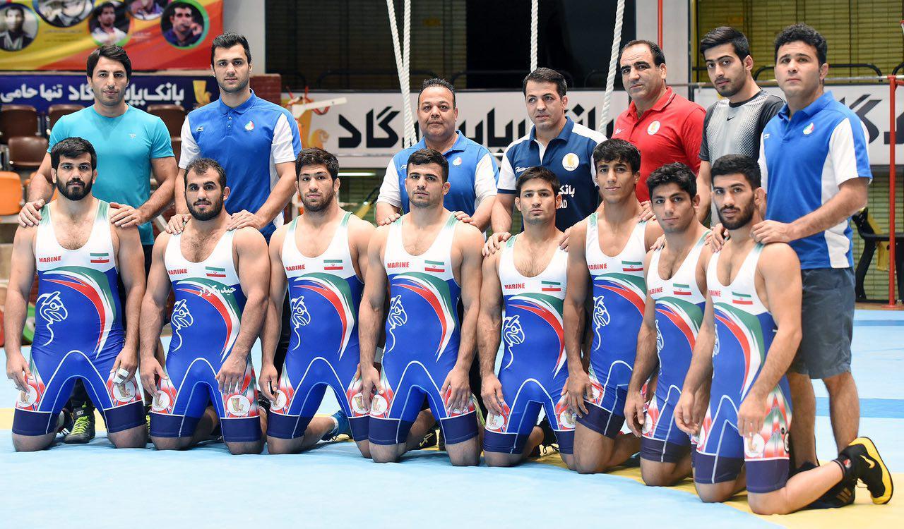 ترکیب تیم ملی کشتیفرنگی در رقابتهای جهانی مشخص شد