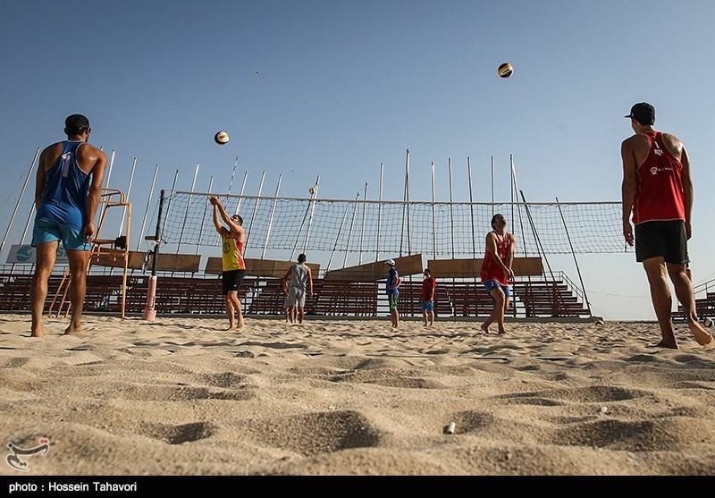 نائب قهرمانی والیبالیست های ساحلی ایران در قهرمانی آسیا