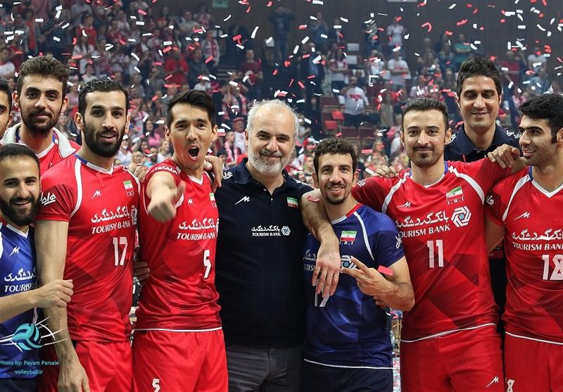 والیبال قهرمانی جهان ایران ۳ فلاند ۲