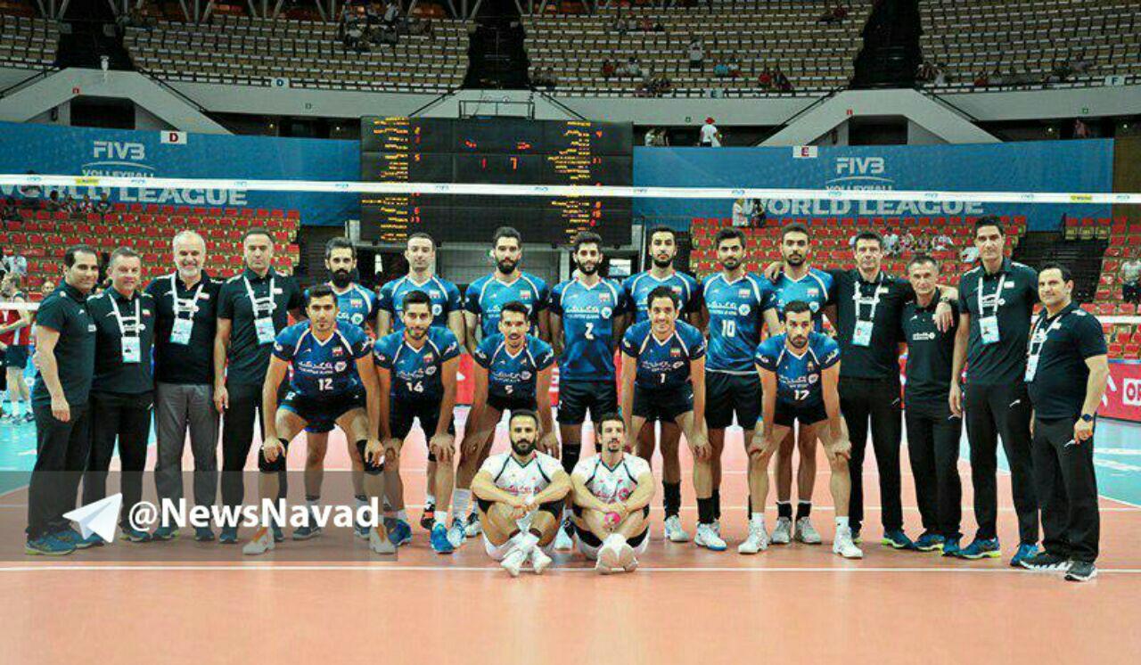 ایران-پورتوریکو والیبال قهرمانی جهان