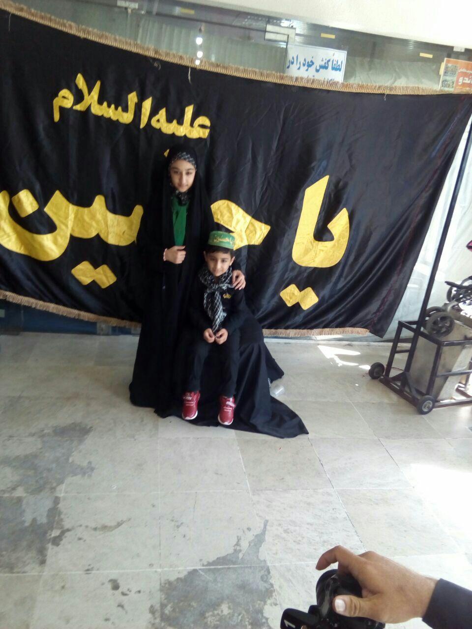 برگزاری مراسم شیر خوارگان  حسینی در ورزشگاه ۴ هزار نفر لاهیجان