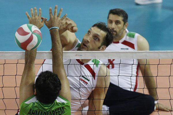 تیم ملی والیبال نشسته مردان ایران قهرمان آسیا شدند