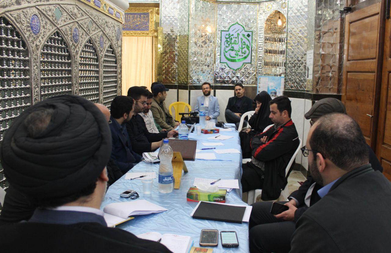 نشست خبری رییس اوقاف شهرستانهای لاهیجان وسیاهکل