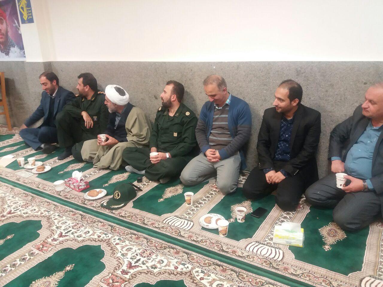 برگزاری همایش روز بسیج مستضعفین در اداره گاز شهرستان لاهیجان