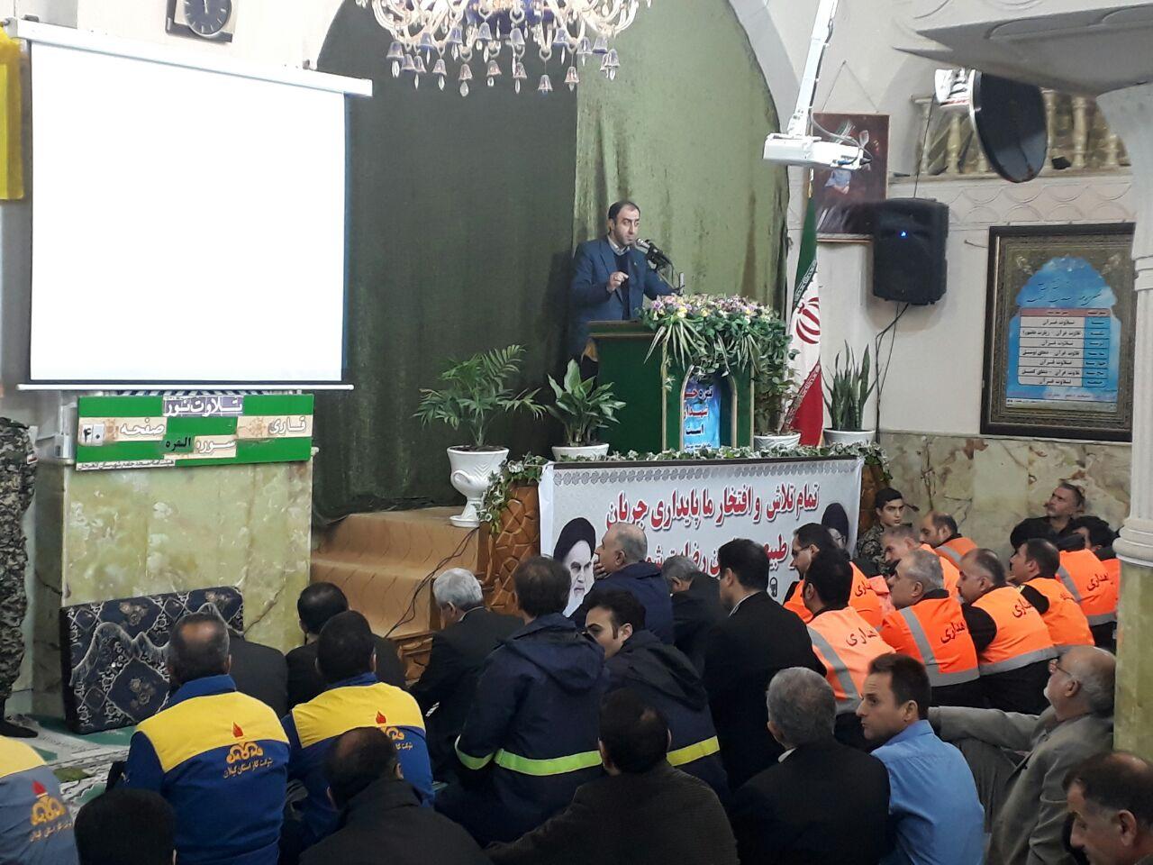 پیش سخنران نماز جمعه شهرستان لاهیجان؛ دکتر حیدری نژاد: الهی پرده ها از راه بردار؛ ما را به خودمان وامگذار
