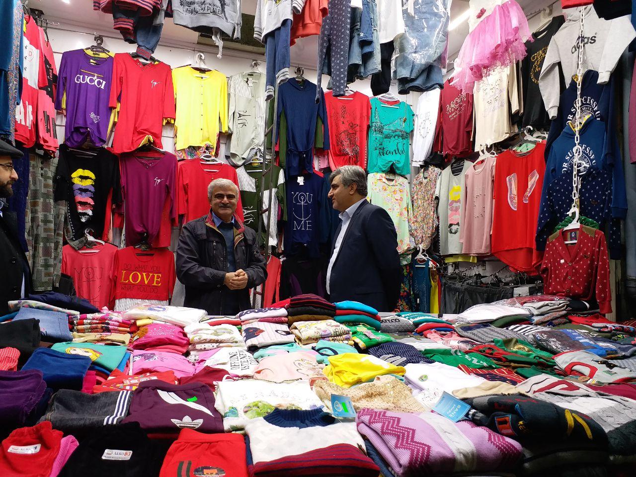 حضور سرزده و بدون تشریفات استاندار گیلان در بازار رشت