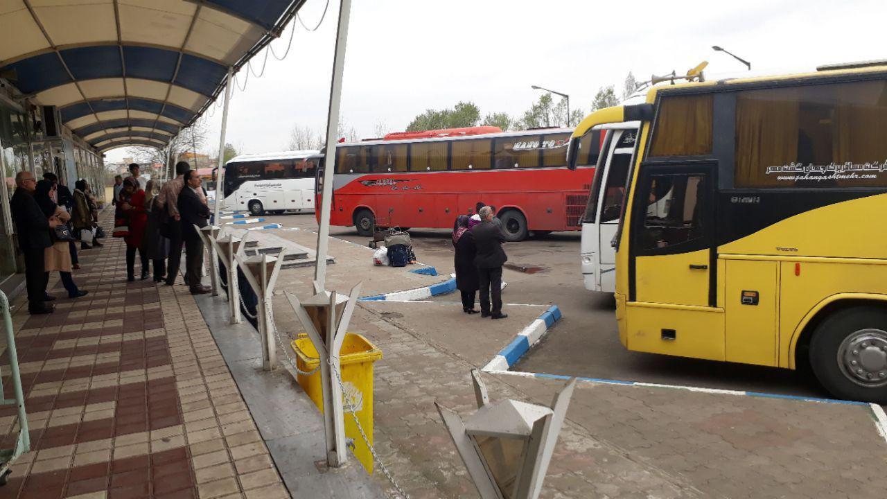 بیش از ۲۸ هزار مسافر نوروزی از پایانه مسافربری شهرداری لاهیجان عزیمت کردند