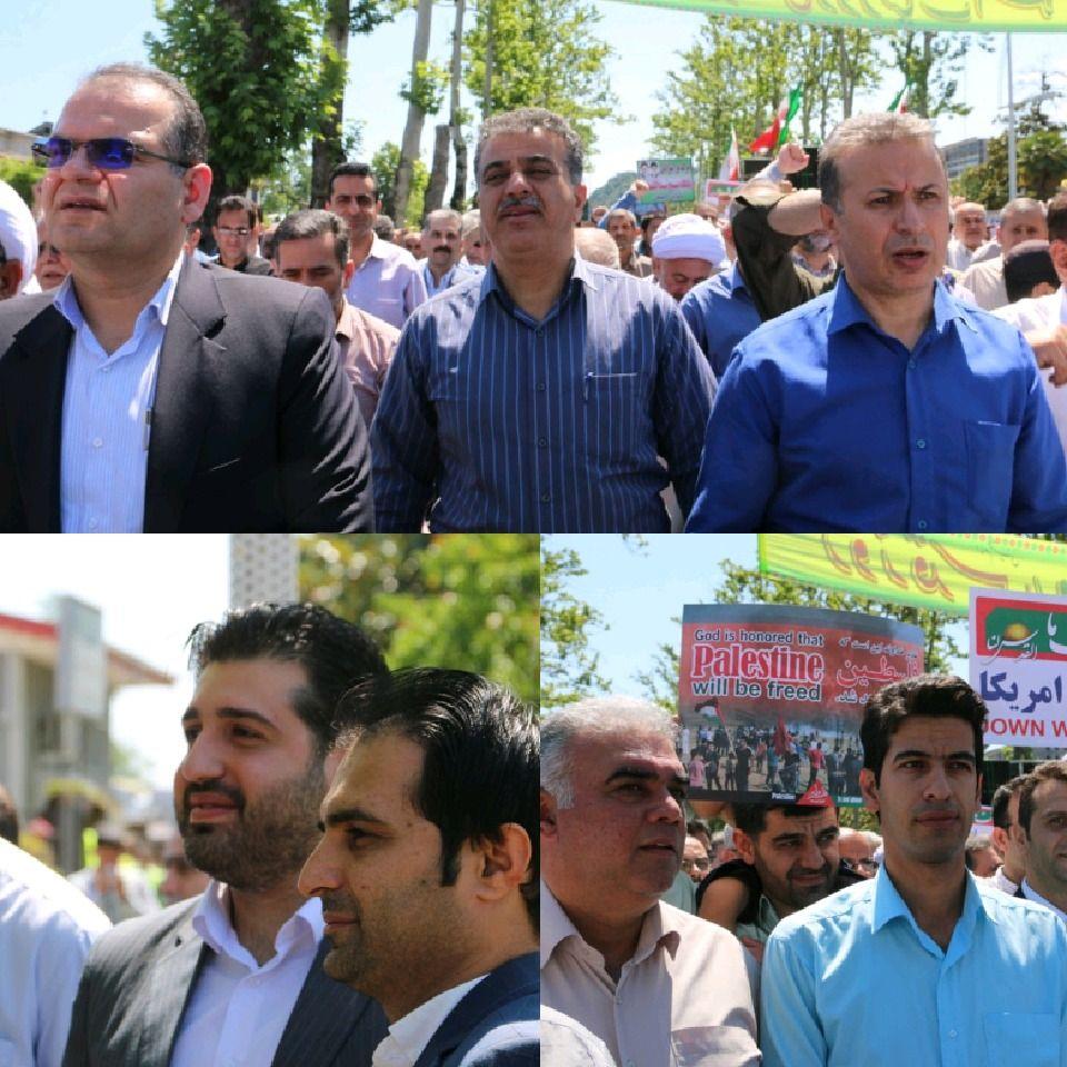 گزارش تصویری راهپیمایی روز قدس- لاهیجان ?سیده معصومه کیایی