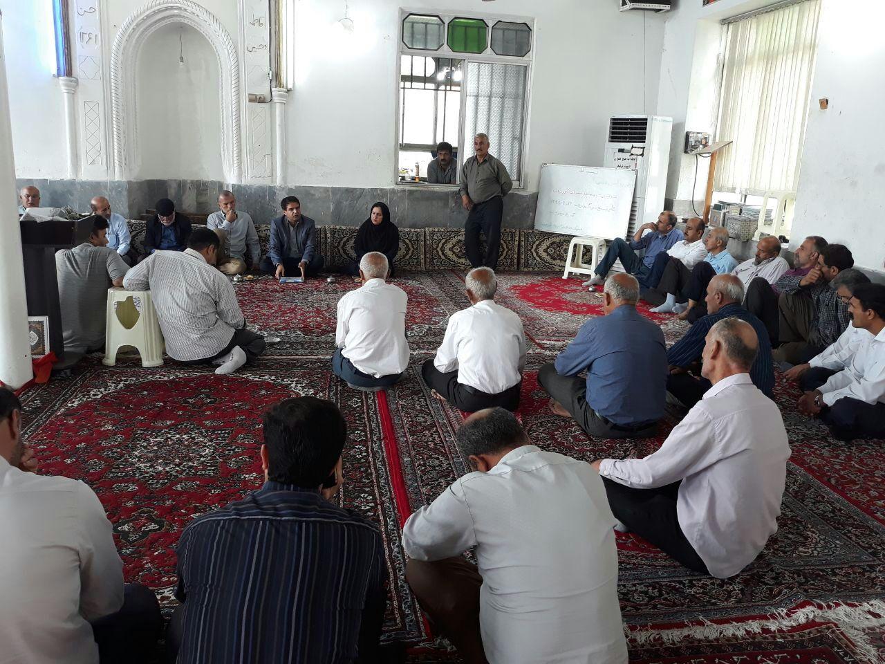 آموزش پسماند روستایی در روستای بالا محله شیر جوپشت