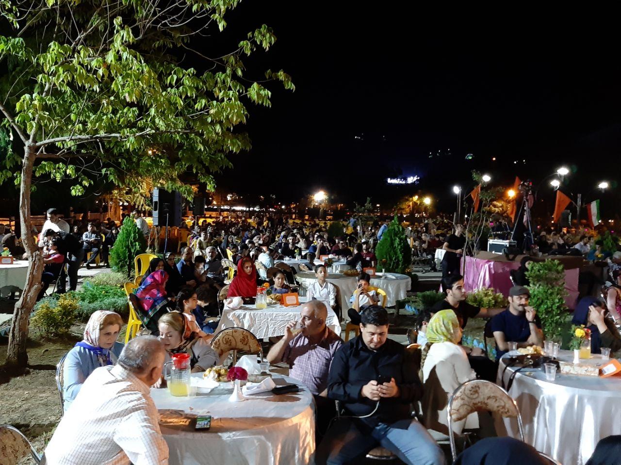 گزارش تصویری دهمین جشنواره تئاتر خیابانی شهروند لاهیجان