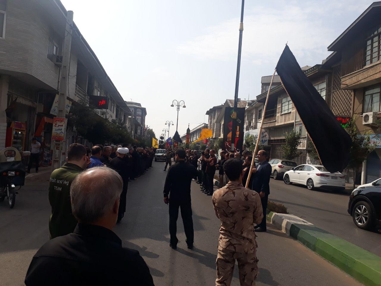 گزارش تصویری هیئت عزاداری ثارالله سپاه ناحیه #آستانه_اشرفیه