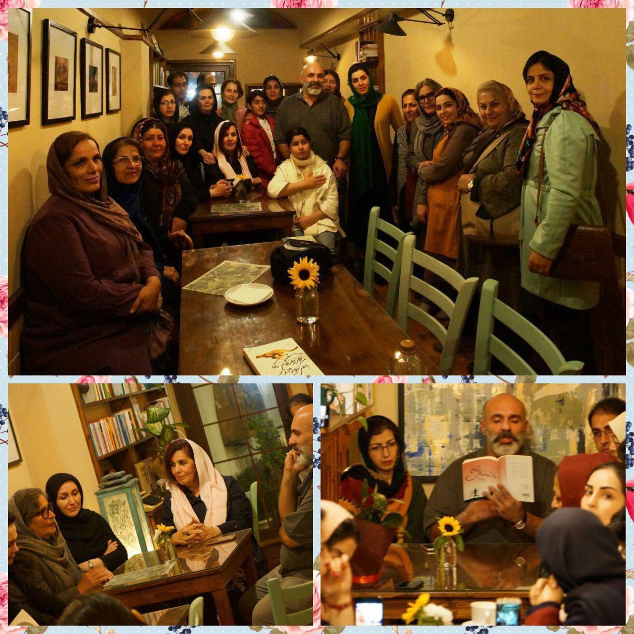 گشایش کافه کتاب امید در لاهیجان
