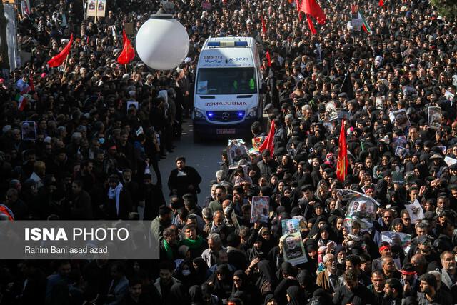 روایتی از جان باختن ۶۱ نفر در تشییع شهید سلیمانی