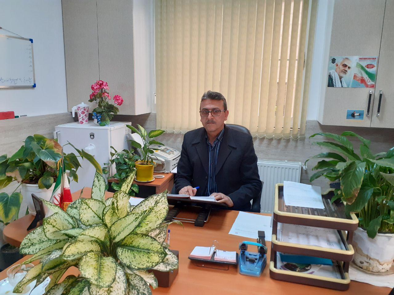 مصاحبه اختصاصی خبرنگار گیل فام با جعفر میرزایی رئیس محیط زیست شهرستان آستانه اشرفیه به مناسبت روز هوای پاک