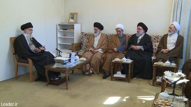 رهبر معظم انقلاب اسلامی در دیدار اعضای شورایعالی حوزههای علمیه: صیانت از شور انقلابی و طلاب جوان یک ضرورت است