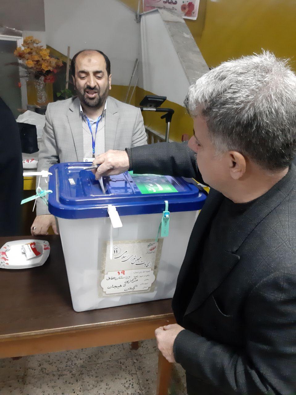 📸گزارش تصویری از شعب اخذ رای حوزه انتخابیه لاهیجان و سیاهکل    🕐 ساعات اخذ رای (۱۸الی۱۹)