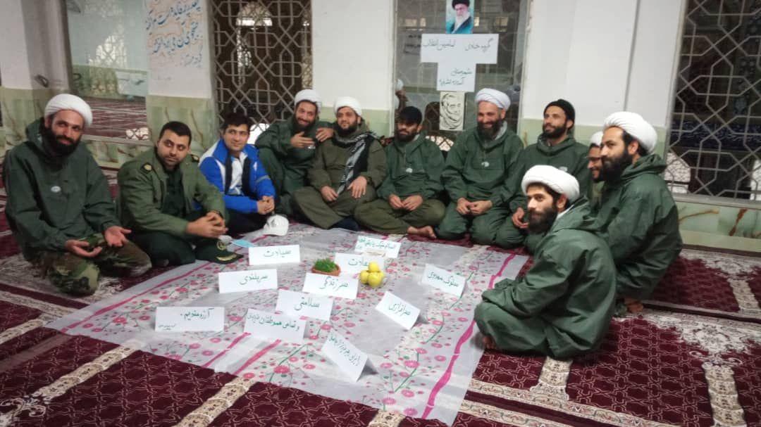 سال نو گروه جهادی امامین ؛ مدافعین شریعت