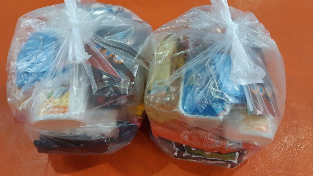 """تهیه و توزیع ۱۵۰ بسته معیشتی بین نیازمندان دهشال شهرستان آستانه اشرفیه در راستای """"طرح #مواسات_مومنانه"""""""