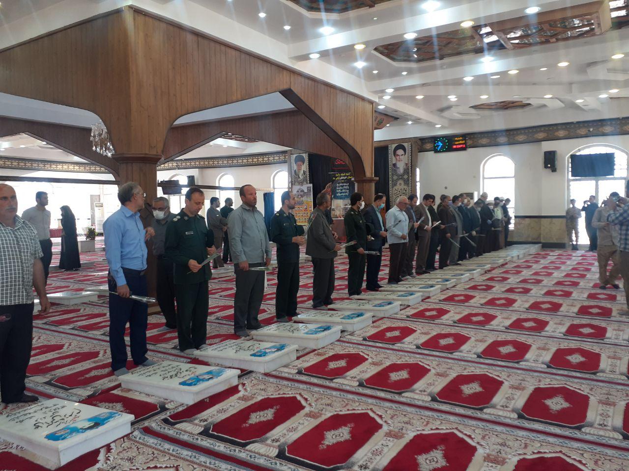 گلباران مزارشریف شهدای شهرستان به مناسبت سوم خرداد روز آزادسازی خرمشهر