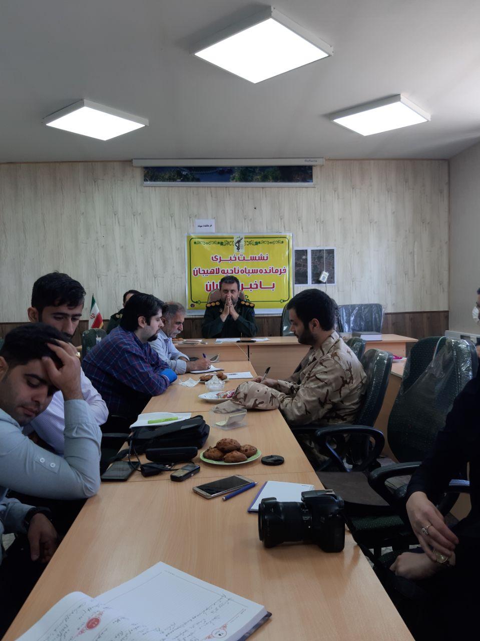 سپاه پاسداران جمهوری اسلامی ایران در ایام کرونایی شهرستان لاهیجان چه کرد؟