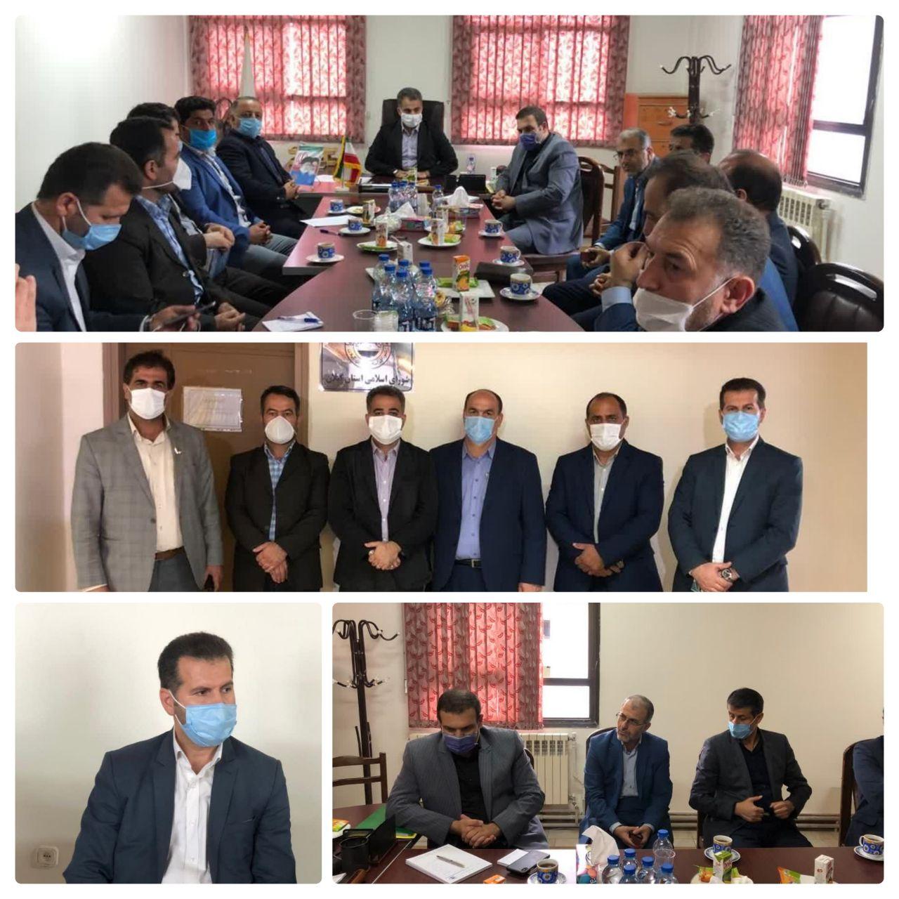انتخابات هیئت رئیسه سال چهارم دوره پنجم شورای اسلامی استان گیلان برگزارشد