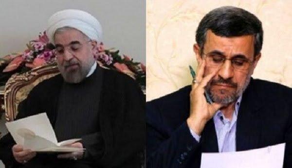 نامه احمدینژاد به روحانی: جلوی جنگ را بگیرید