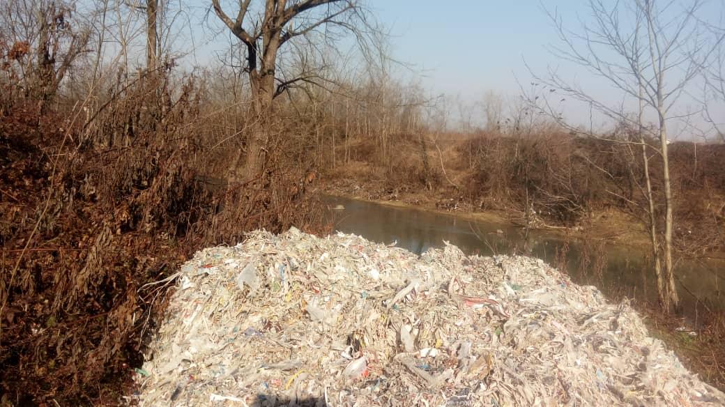 گزارشهایی مبنی بربازگشت مجدد زباله های مشکوک به لاهیجان