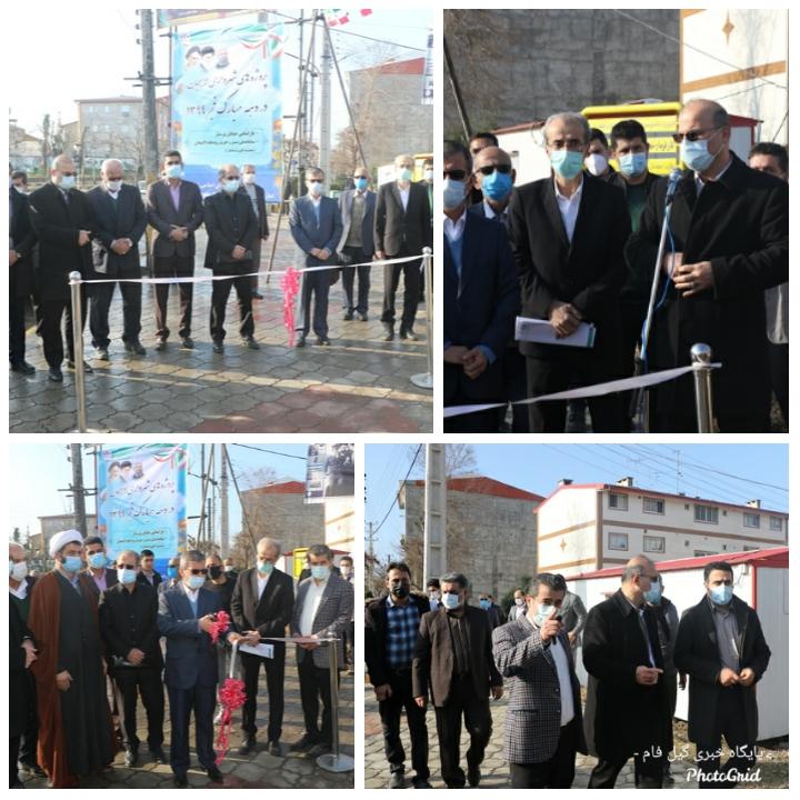 پروژه های عمرانی شهرداری لاهیجان در دهه مبارک فجر افتتاح شد